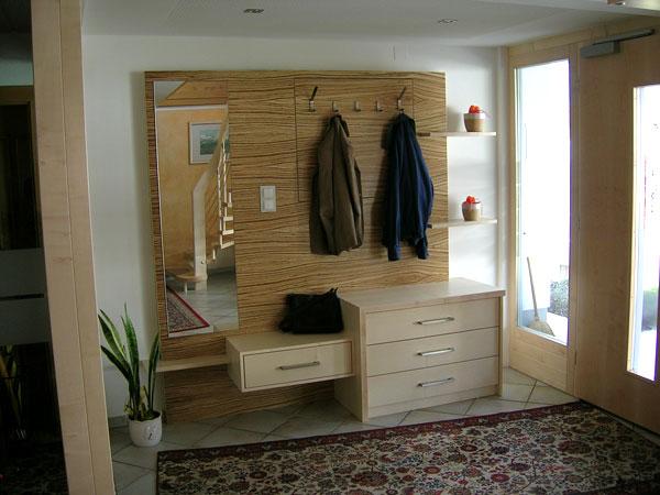 Wohn und badm bel schreinerei for Garderobe vom schreiner
